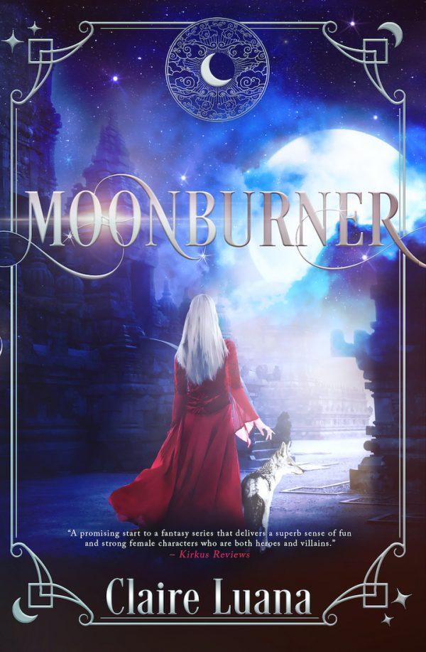 Moonburner Book Cover
